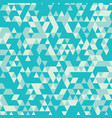 blue retro triangular seamless pattern vector image