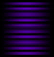bright glowing blue horizontal lines on black vector image