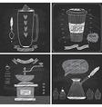 Coffee cards - Chalkboard style