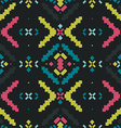 Geometric background Tribal seamless pattern vector image vector image
