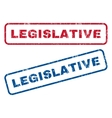 Legislative Rubber Stamps vector image vector image