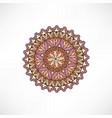 oriental floral decorative element geometric vector image vector image