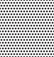 seamless patterns with white and black peas polka vector image