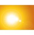 summer Sunset Sky Landscape vector image vector image