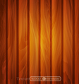 texture of brown wooden planks vector image