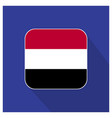 yemen flag design vector image