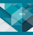 abstract geometric background from transparent vector image vector image