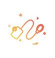 blood pressure icon design vector image