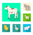 breeding and kitchen logo vector image vector image