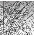 chaotic grayscale lines texture abstract geometric vector image