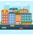Flat City Design vector image vector image
