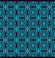 geometric simple luxury blue minimalistic pattern vector image vector image