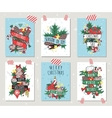 new year greeting card banner isolated vector image vector image