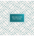 retro seamless pattern with simple line and dot vector image