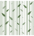 Seamless green and white pattern of stovolov trees vector image