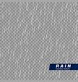 seamless rainfall texture rain drop effect vector image vector image