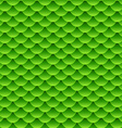 Seamless small green fish scale pattern vector image vector image