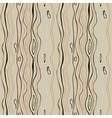 Seamless striped pattern Vertical thin wavy lines vector image