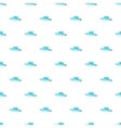 Speed boat pattern cartoon style vector image vector image