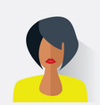 avatar of the modern woman vector image vector image