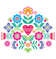 bohemian mandala dot painting design vector image