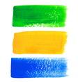 Brazil acrylic banners vector image vector image