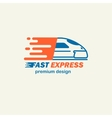 Fast Expres The template for logos icons of vector image