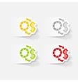realistic design element exchange chips vector image