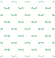 Spring expander pattern cartoon style vector image vector image