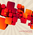 stylish red color background design art vector image vector image