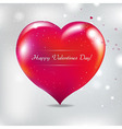 Valentines Day Card With Blur vector image