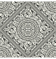 wallpaper in style baroque seamless vector image vector image