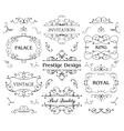 Luxurious Royal Logo Design Template vector image