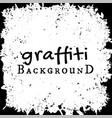 graffiti wall background fashion texture vector image