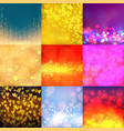 abstract bokeh blur texture backdrop vector image vector image