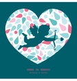 abstract colorful drops shooting cupid vector image