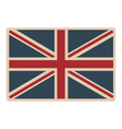 flag united kingdom classic british opaque icon vector image vector image