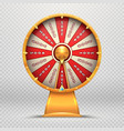 fortune wheel turning roulette 3d wheels lucky vector image vector image