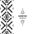Geometric background vector image vector image