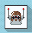 robot smart technologies artificial vector image vector image