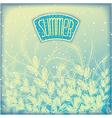 Seasonal summer airy background vector image vector image