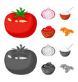 taste and product symbol vector image