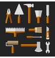 Tools Set for Home Repair vector image