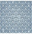 Blue seamless wallpaper vector image vector image