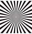 burst in sun background sunburst white circle vector image