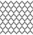 moroccan tiles design seamless black pattern vector image vector image