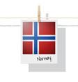 photo norway flag vector image