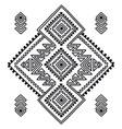 tribal line shapes ethnic pattern sacred vector image vector image