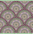 abstract mosaic tile pattern oriental geometric vector image vector image