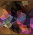 abstract polygonal square background brown vector image vector image